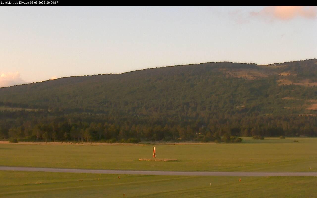 Spletna kamera Letališče Divača